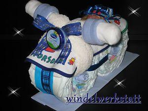 Windeltorte Motorrad Baby Geburt Taufe Geschenk Junge ,Mädchen, Neutral