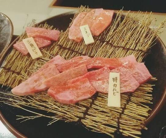 今日は…❤️ #焼肉 #特上カルビ #肉 #大好き #とろける #美味しい #幸せ  #フォローミー #❤️ #f4f #フォロバ