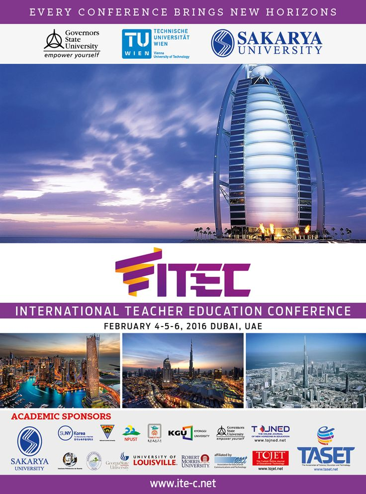 International Teacher Education Conference - ITEC 2016: http://bit.ly/ITEC-2016 #Teaching #TeachersEducation #Education #Eğitim #ÖğremenlikEğitimi #Dubai #UAE #Congress #Conference #Kongre #Konferans