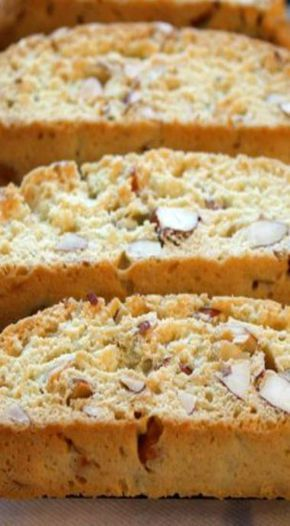 almond biscotti More