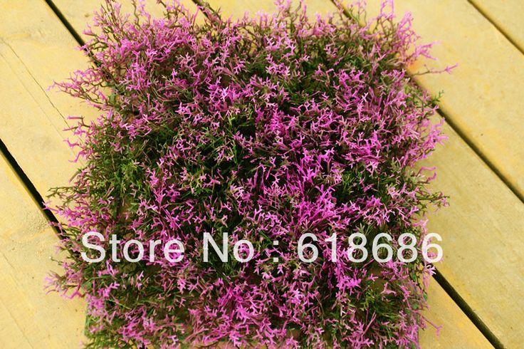 Free shipping, 25cm * 25cm Super simulation Provence lavender floorsimulation simulation lawn,Artificial turf