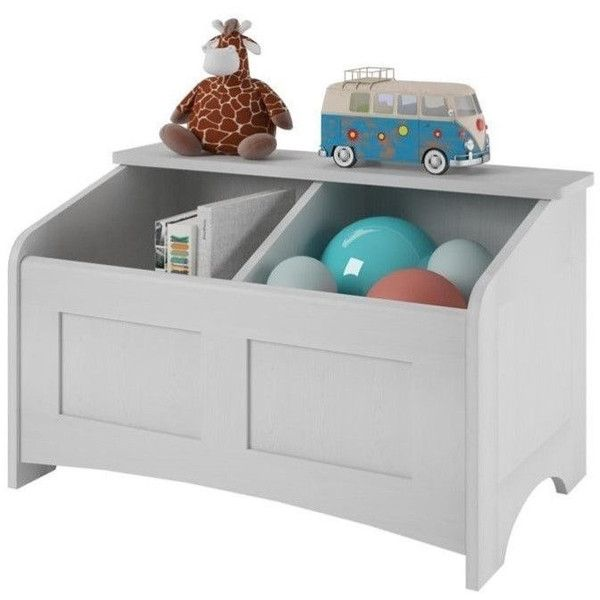 Ameriwood Wood Toy Chest ($99) ❤ liked on Polyvore featuring home, furniture, storage & shelves, dressers, white wooden toy box, shoe storage shelves, storage shelving unit, wooden toy box and wooden storage shelves