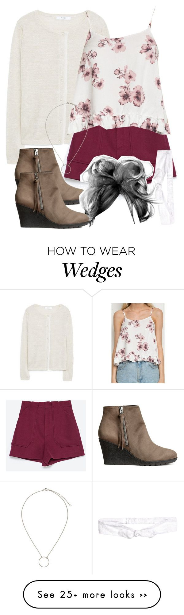 """""""Lydia Inspired Spain Friendly Outfit"""" by veterization on Polyvore featuring MANGO, Zara and H&M"""
