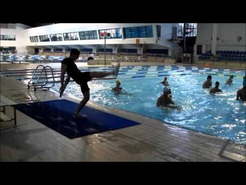 Aula de Hidroginástica / AquaFitness Class - YouTube