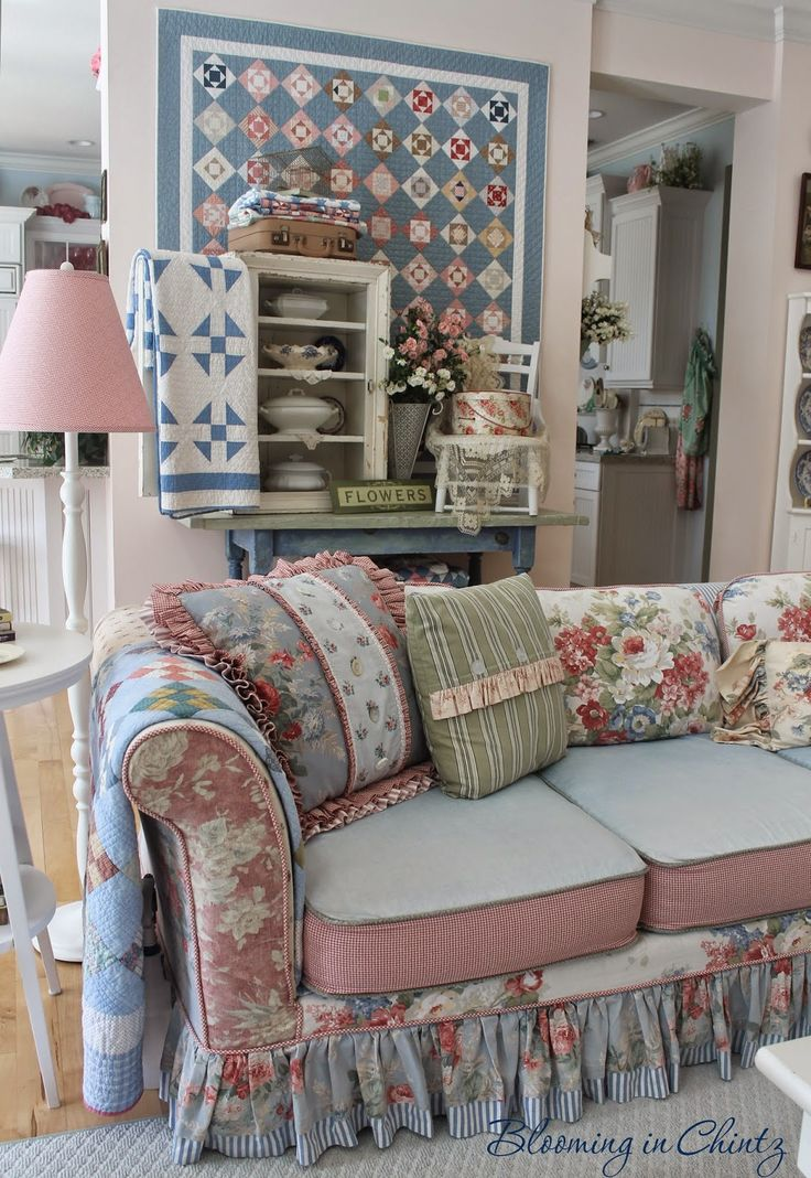 447 Best Cottage Living Rooms Images On Pinterest