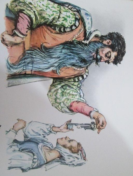 """Bluebeard - Barbablù dal libro """"Le fiabe meravigliose"""" Illustrations by  Marino (Marino Guarguaglini)"""