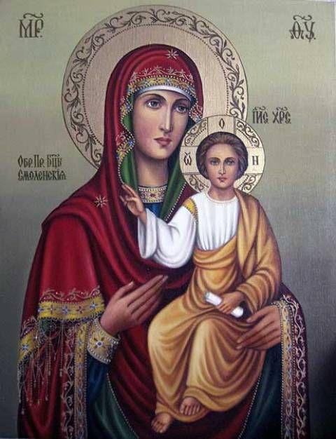 Б.М.Смоленская (холст,масло) - художник Ядвига Сенько