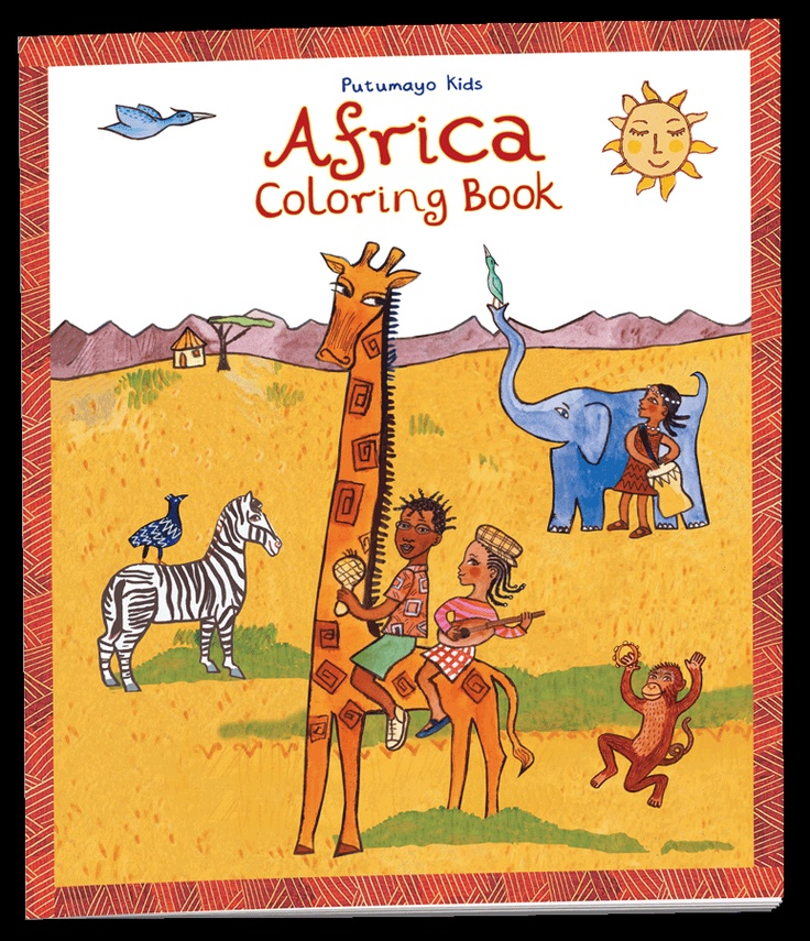 173 best images about children 39 s puzzles coloring pages for African culture coloring pages