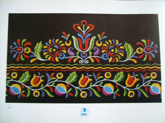 Czecho Slovakian Embroideries Revised Edition by by silverzodiac, $20.00