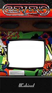 Berzerk VCabinet artwork