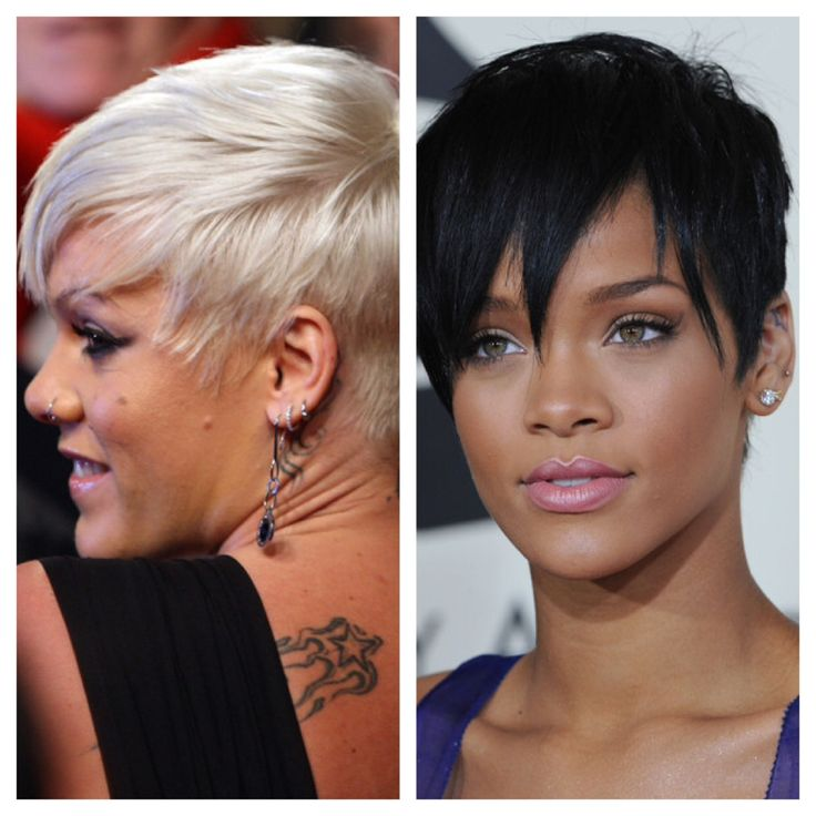 Pink (2006) by Rihanna (2008) - this was Pink's style since years