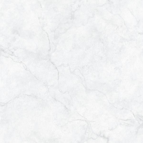 Nuwallpaper Carrara Marble Peel And Stick Vinyl Strippable Wallpaper Covers 30 75 Sq Ft Nu2090 The Home Depot Nuwallpaper Carrara Marble Peel And Stick Wallpaper