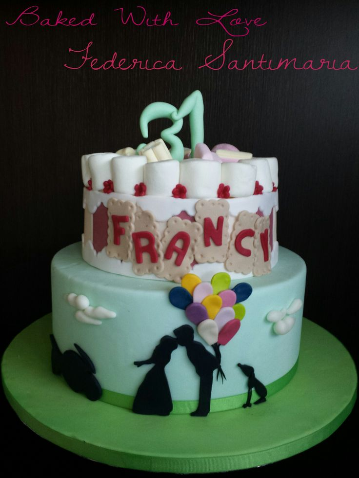 party maker, love, colours, marshmallow #BakedWithLove Federica Santimaria