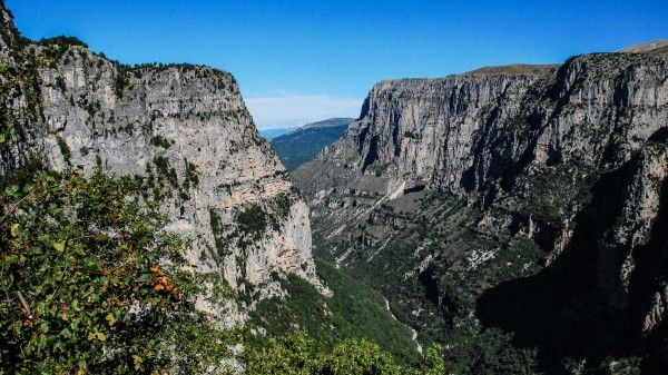 Vikos gorge, 2nd deepest in the world