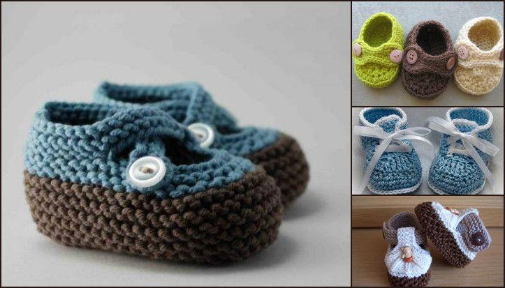 μποτάκια πλέξιμο μωρό μοντέλα για τους άνδρες