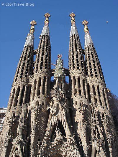9e45605bbc Sagrada Familia by Antoni Gaudi  The Sandcastle