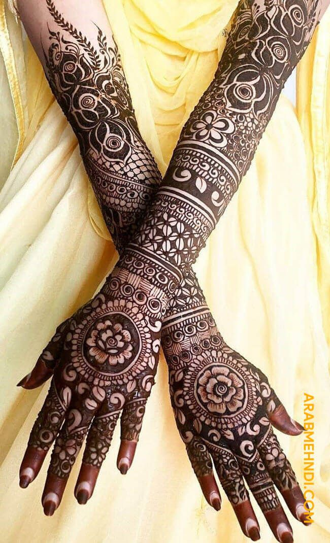 latest mehndi designs for teej