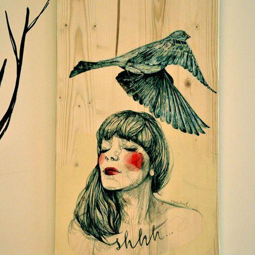 Paula Bonet. shhhhh