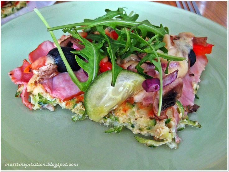 Cukiniowa pizza  #mattsinspiration #pizza