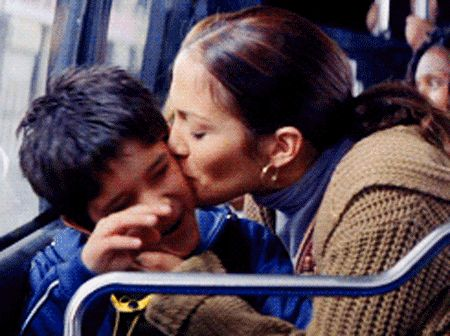 Pin for Later: Jennifer Lopez and Tyler Posey Have a Maid in Manhattan Reunion  Source: Sony Pictures