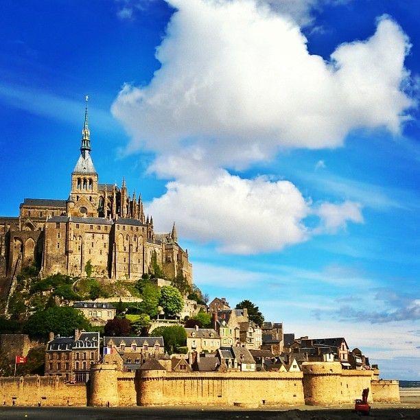 #Mont Saint-Michel  #Mont #Saint #Michel #France #Normandy #Travel #Amazing #MustSee #Stunning