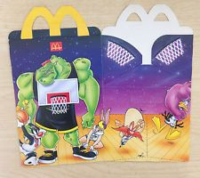McDonalds Happy Meal Toy Looney Tunes SPACE JAM Monstar BOX only (Empty) New