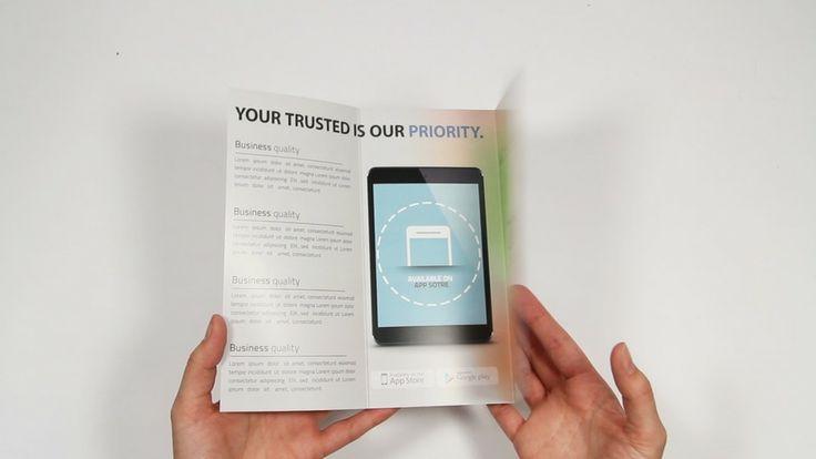 Informatiefilmpje over Folders drukken