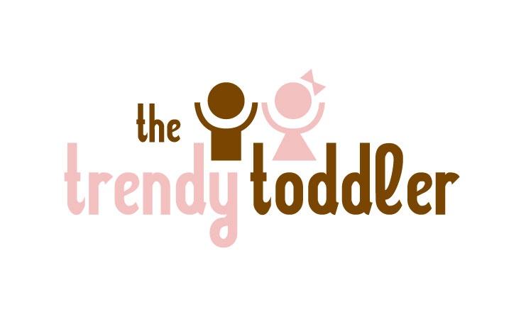 the trendy toddler logo design