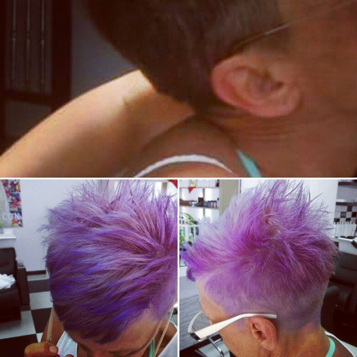 Ecotech + ecoplex  and violet playful before & after