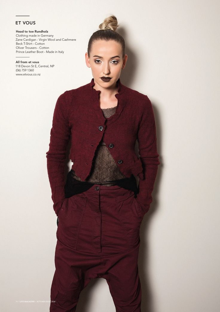 Live Magazine Rundholz Outfit