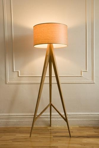 ALS Designs Bamboo Floor Lamp - modern - floor lamps - new york - billy4fun