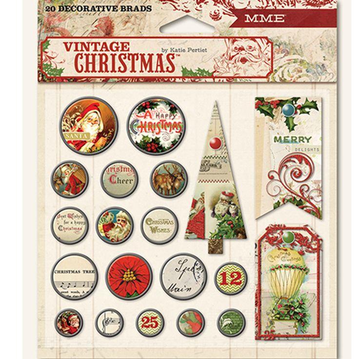 """Набо брадс My Minds Eye """"Vintage Christmas"""" - Интернет-магазин «МЕМУАРИС»"""