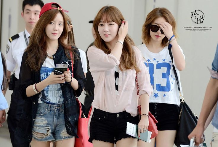 T-ara HyoMin, SoYeon and JiYeon @ Airport | K-POP STYLE ...