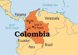 Resultado de imagen para columbia map