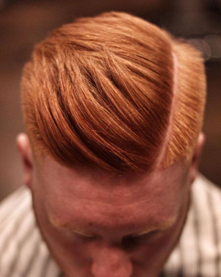 Männerfrisuren mit Seitenscheitel stylen tipps selber machen