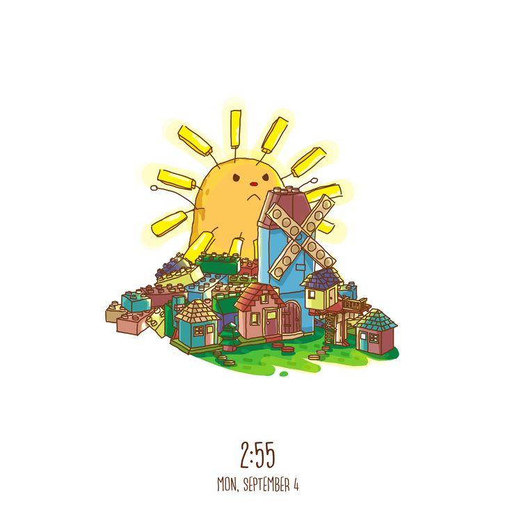 Proud Sun #art #artwork #dailyart #sun #sunrise #lego #city #shine #morning #potato #play #fun #doodle #enjoy #happy #sketchbook #sketch #design #illustration #digitalart #digitaldrawing #drawing #draw #paint #graphicdesign #potatobart