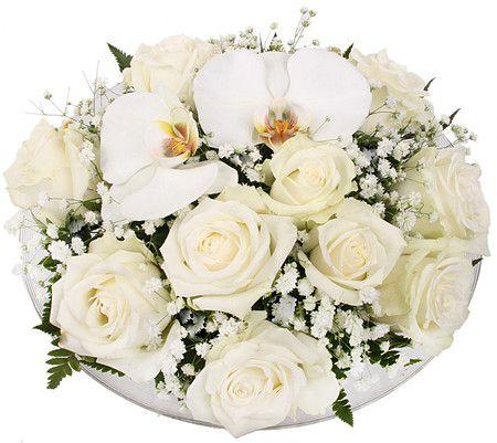 Flott borddekorasjon fra Mestergrønn :) Ville dog byttet ut den hvite orkideèn med en lilla :)