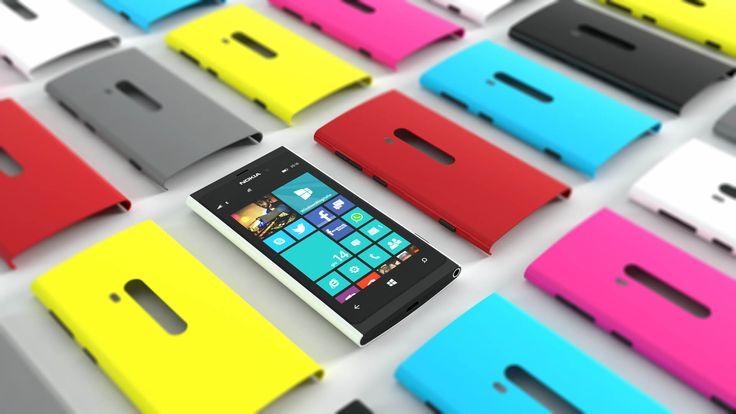 Nokia Lumia 880 design concept.