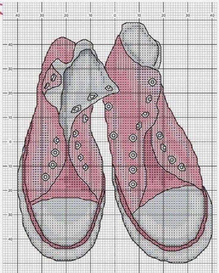 For, Обувь Вышивка