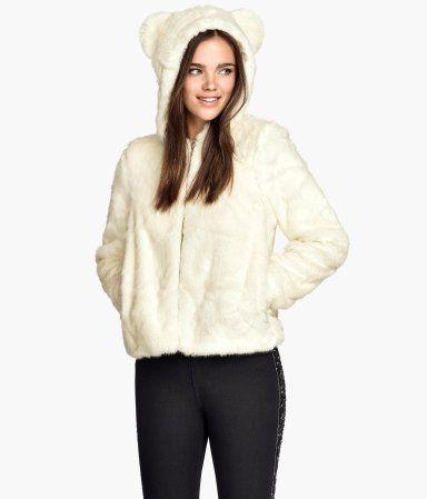 Best 25  White faux fur jacket ideas on Pinterest | White faux fur ...