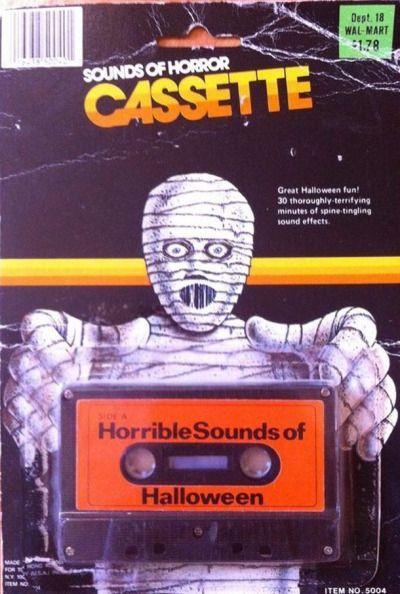 Sounds of Horror Cassette