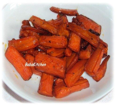 bonjour ! voici une manière très simple de changer l'ordinaire avec de simples carottes ... ingrédients : pour une portion * 250g carottes pelées * sel, poivre * 1cc huile d'olives * 1cc sirop d'agave * 1cc vinaigre balsamique préparation : peler les...