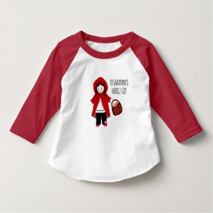 Grandma's House (Little Red Ridding Hood) T-Shirt  $25.50  by BarlowandBailey  - custom gift idea