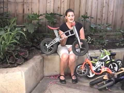 Balance Bike Features, sizes