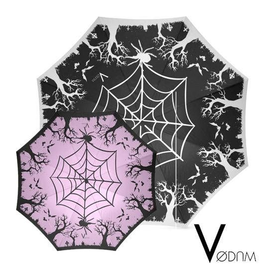 Gothic Halloween UMBRELLA Goth Magic Witchcraft Witch Rain