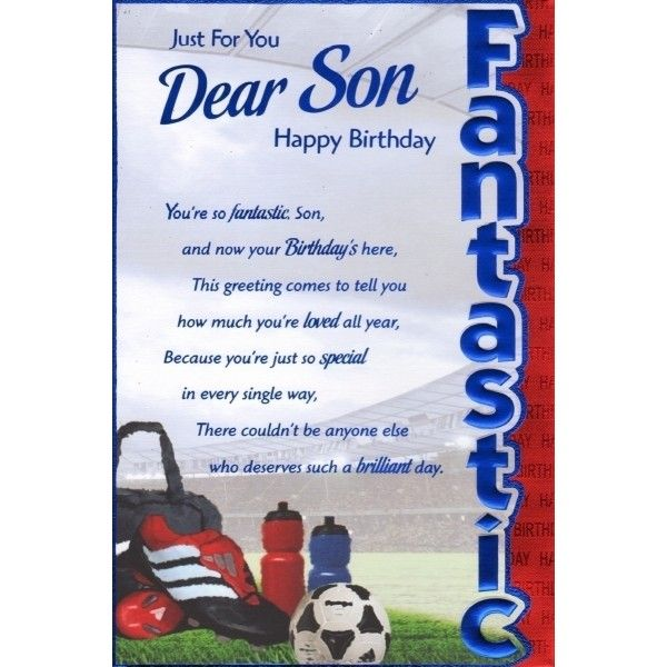 Best 25 Son birthday cards ideas – Son Birthday Cards