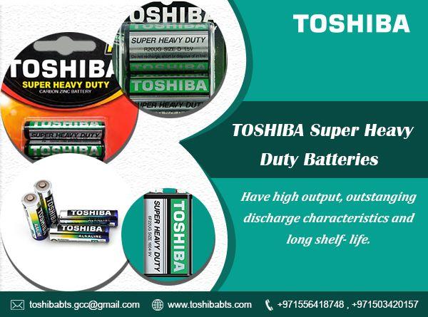 Toshiba Super Heavy Duty Batteries Toshiba Long Shelf Batteries