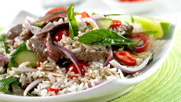 jasmine rice thai beef salad thai red beef curry thai red curry beef ...