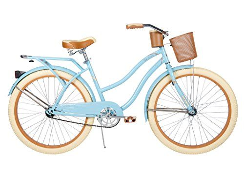 "26"" Huffy Nel Lusso Women's Cruiser Bike, Gloss Blue Huffy http://www.amazon.com/dp/B00FRR6TAG/ref=cm_sw_r_pi_dp_Q4S7tb113M7RV"
