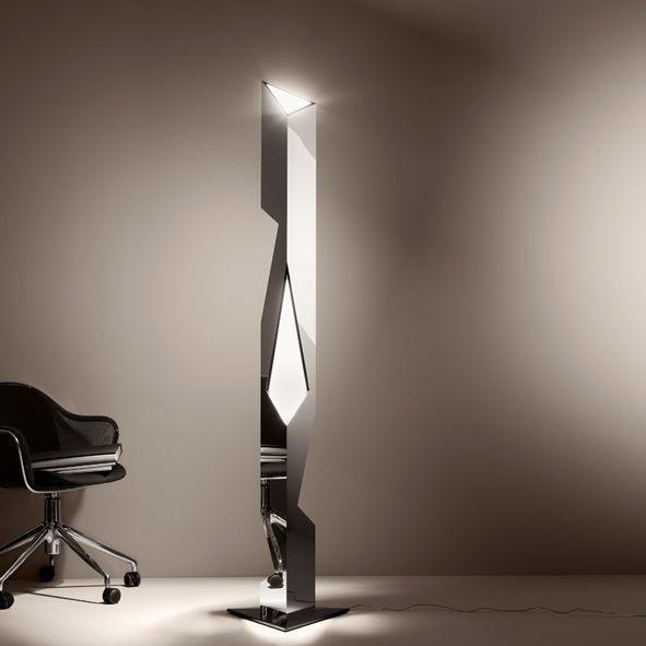 Floor standing lamp / original design / aluminium BILBAO R by Carlo Nason de Majo ILLUMINAZIONE